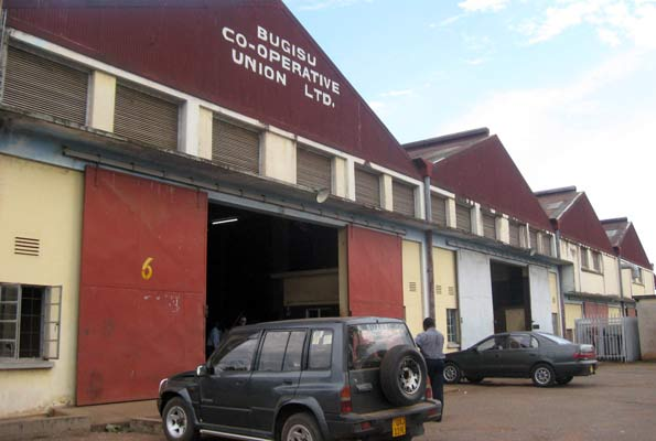 Bugisu Co-operative Union Limited premises in Mbale
