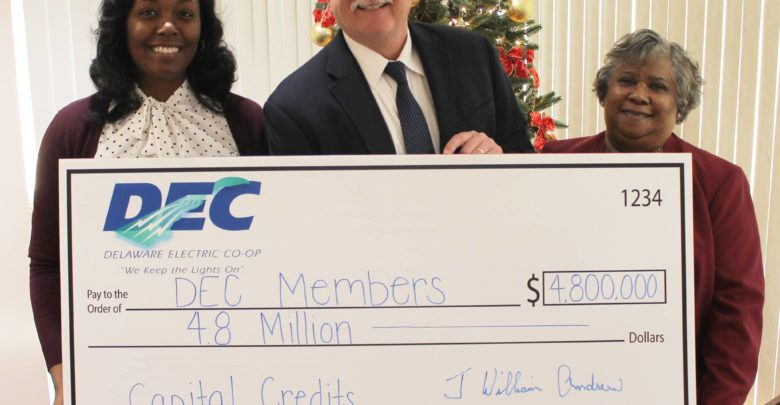 File Photo: We have an early Christmas present for our DEC members! We are giving nearly $5 million back