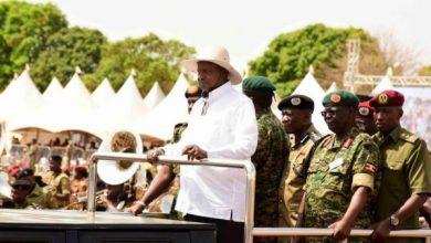 Acholi sub region boda boda and Women SACCO bag big from President Museveni cash donations