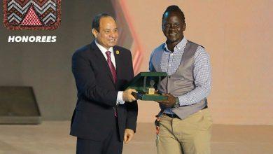 Egyptian President Honors Safe Boda founder, Ricky Papa in Cairo on Sunday