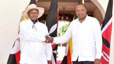 President Museveni and his Kenyan counterpart, Uhuru Kenyatta