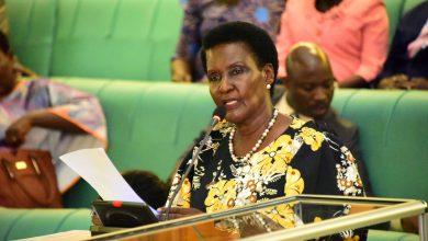 The Minister for Trade, Industry and Cooperatives, Amelia Kyambadde.